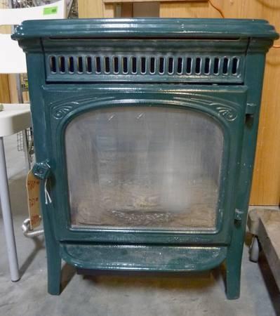 gas wood stove