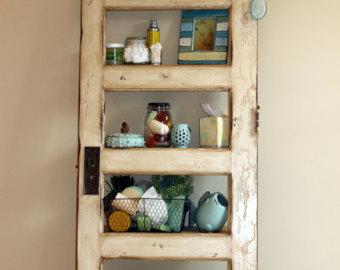 diy door bookshelf
