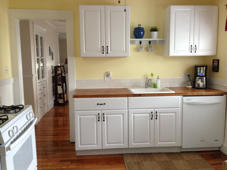 Home Depot Kitchen Cabinets $99 DIY kitchen cabinets: IKEA vs. Home Depot | House and Hammer
