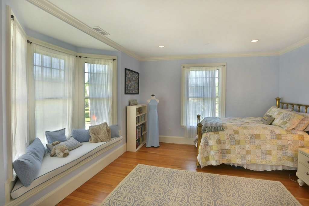 bedroom in newburyport victorian for sale