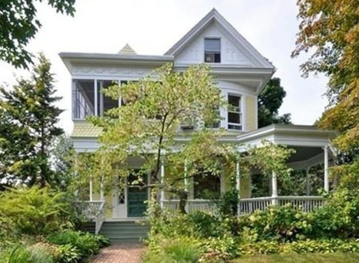 exterior victorian northampton house