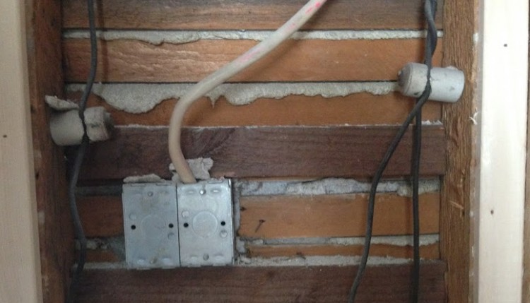 knob and tube wiring - old houses