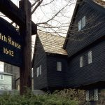 salem witch house in salem mass