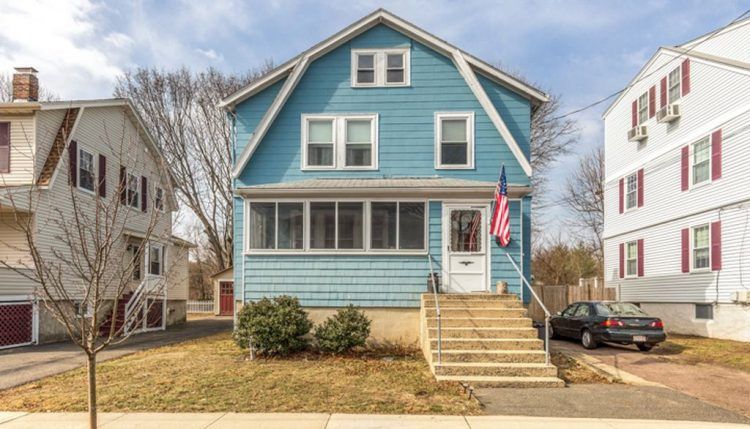 dutch colonial on derby street in melrose house for sale