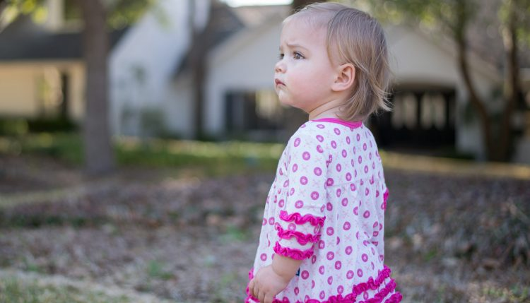 toddler outside house - fair housing, familial discrimination and massachusetts lead law