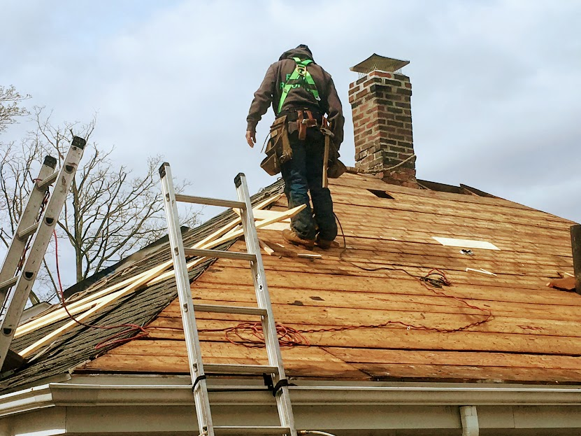replacing the roof - monthly costs of owning a home real costs of homeownership