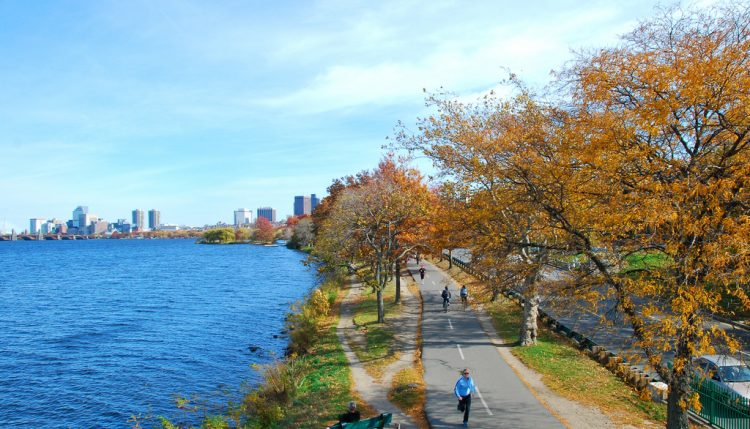 best commutes in boston charles river esplanade bike path