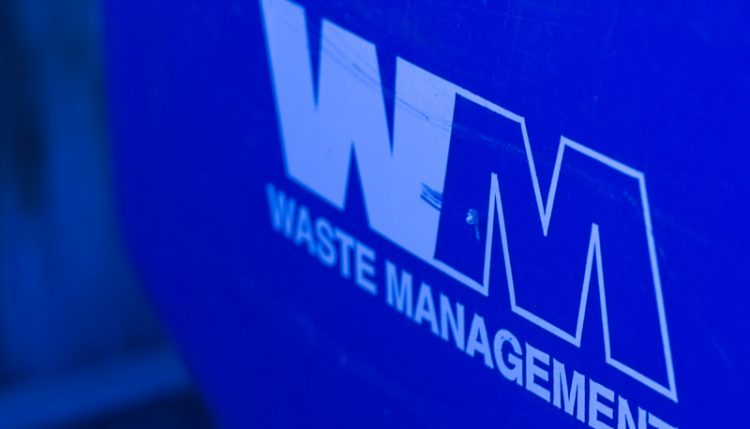blue recycling bin - how to recycle in massachusetts